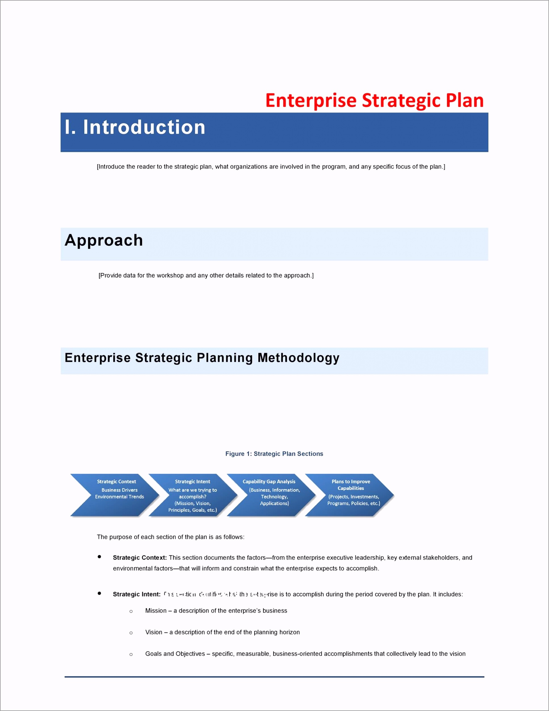 008 unique it strategic plan template picture etuaa