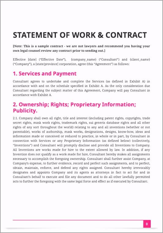 Contract screenshot otoee