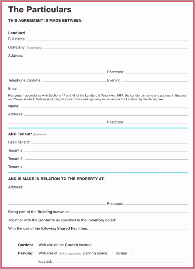 Month to Month Lease Agreement Template 5 otyia