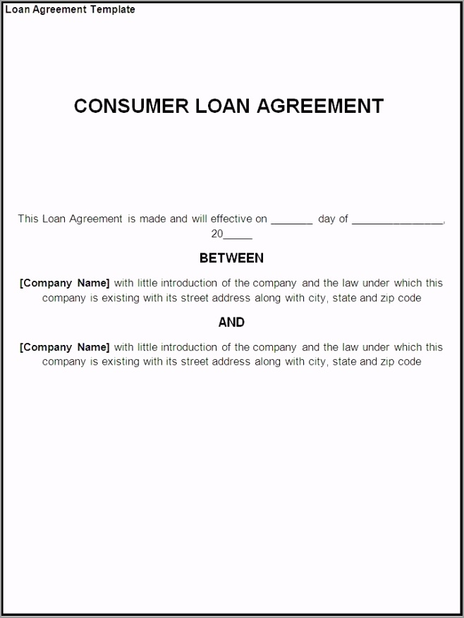 money loan agreement template rtuto