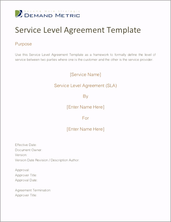 service level agreement template 1 728 ouxer