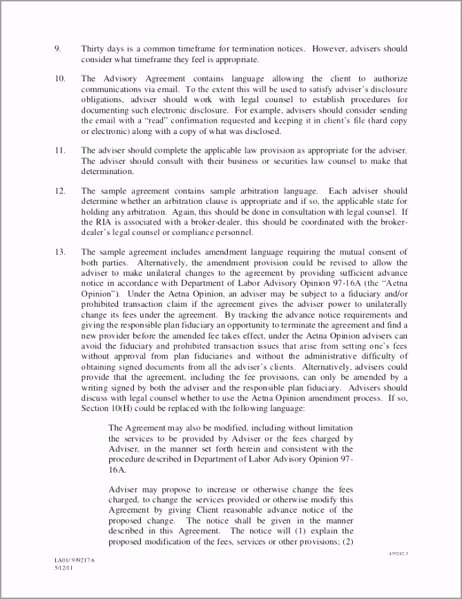 ria service agreementtemplate408b2 tprea