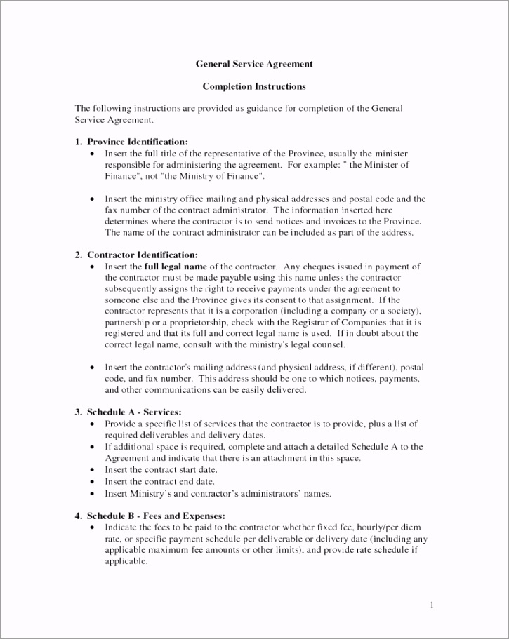general contract for services template onwebioinnovateco 1 oruar