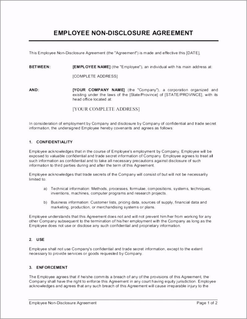002 remarkable mutual non disclosure agreement template example 868 1120 eruuu