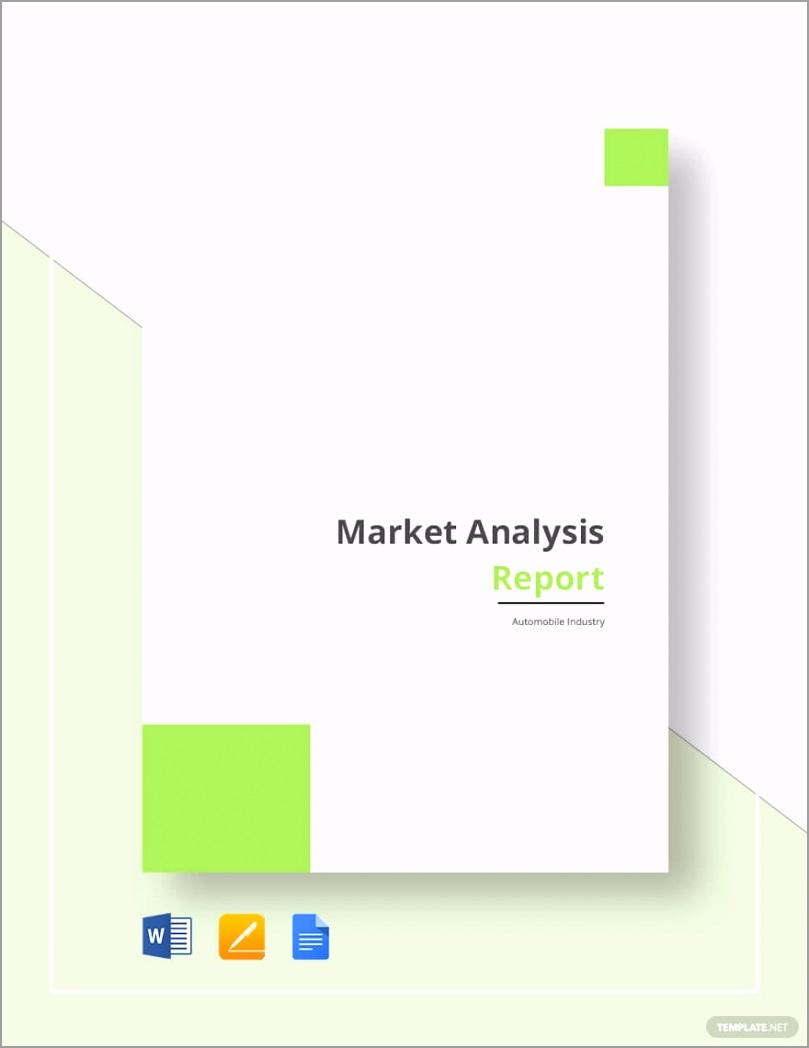 Market Analysis Report Template 1 tuini