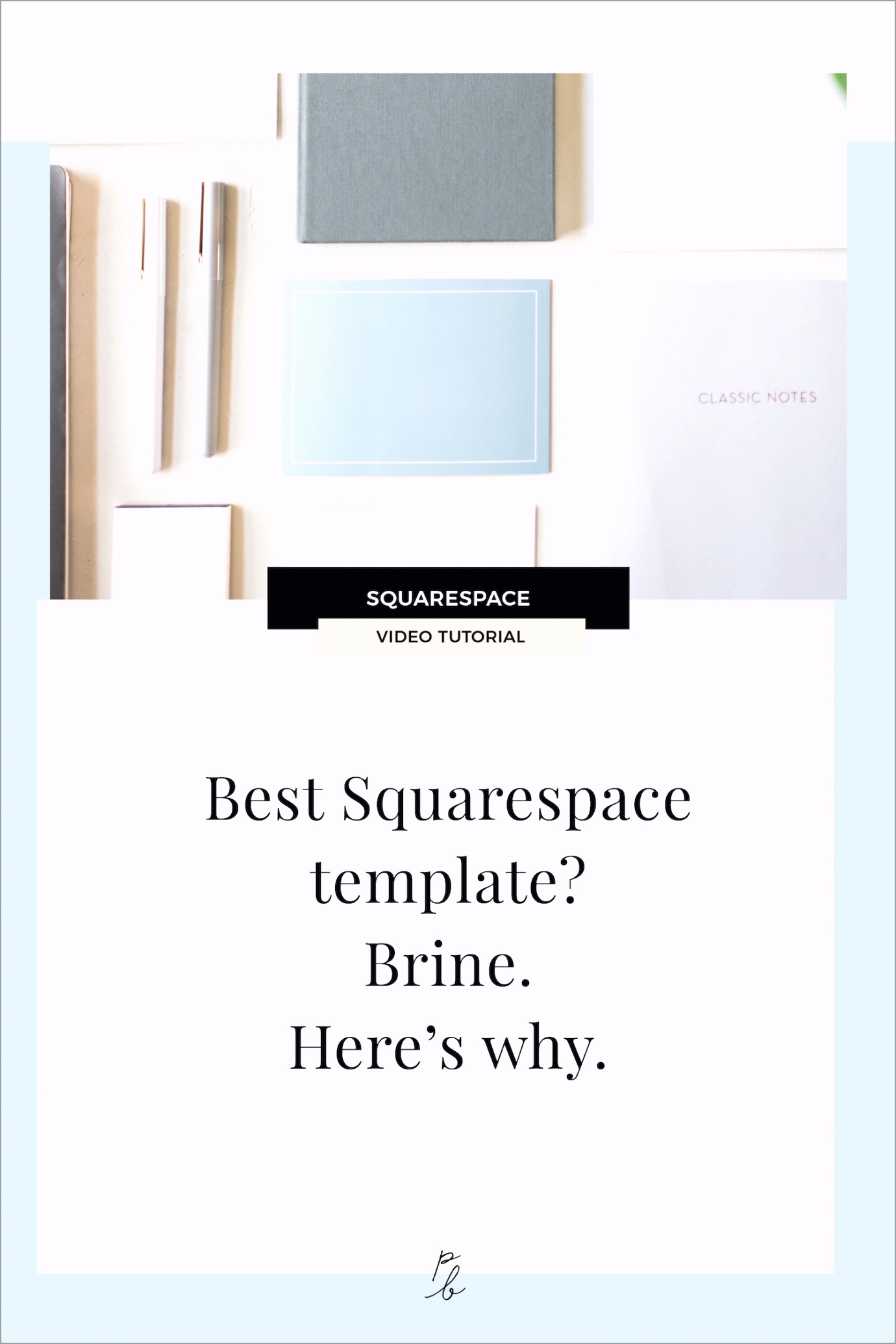 What is the best Squarespace template Brine Here s why pryto