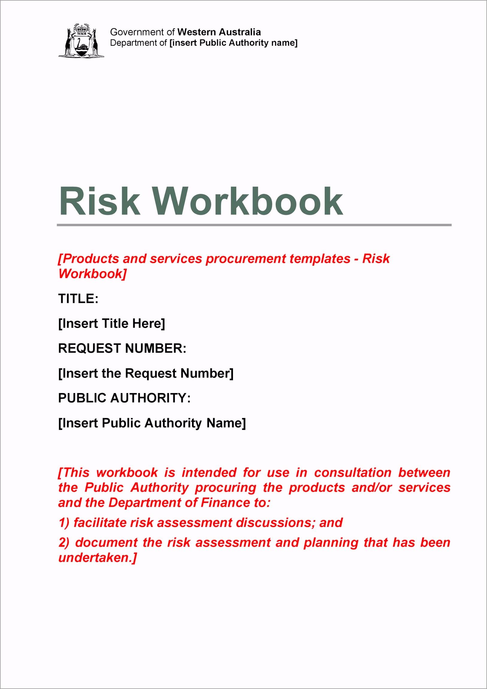Risk Analysis Template 27 rakuo