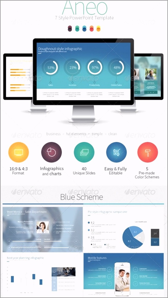 aneo 7 style powerpoint template ueizr