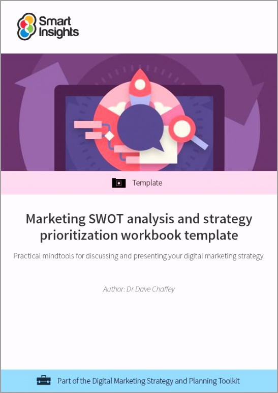 swot analysis workbook template look inside euuyw