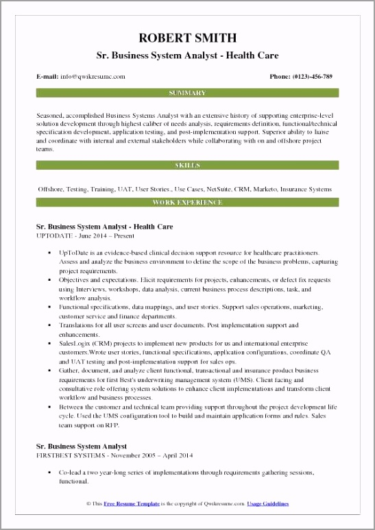 business system analyst pdf rjueh