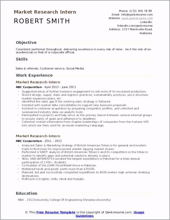 market research intern pdf ttyip