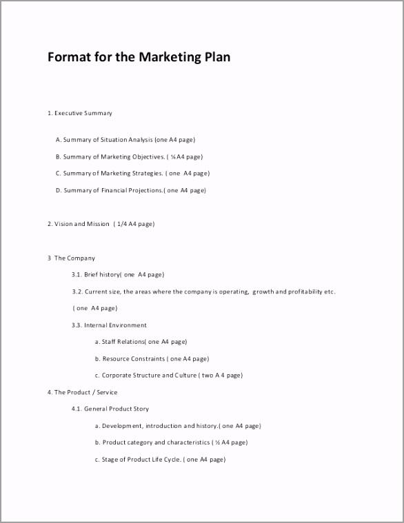 marketing plan format 2013 1 638 ygtwt
