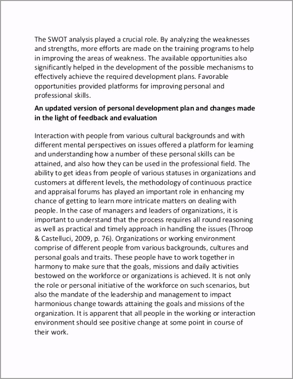 personal and professional development plan sample essay 6 638 wwoer