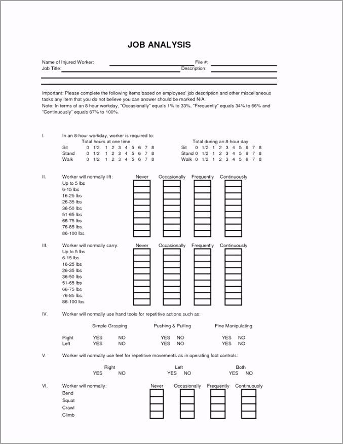 hr job analysis form q=hr job analysis form itefa