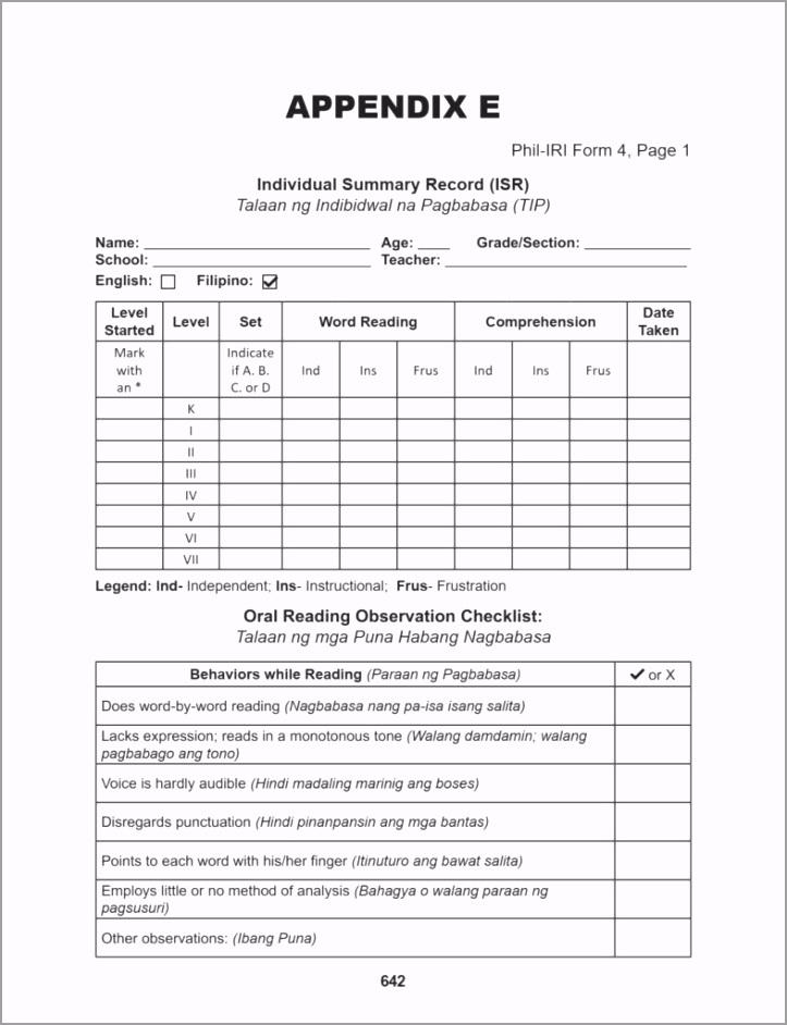 Phil IRI Form 4 786x1024 apdut