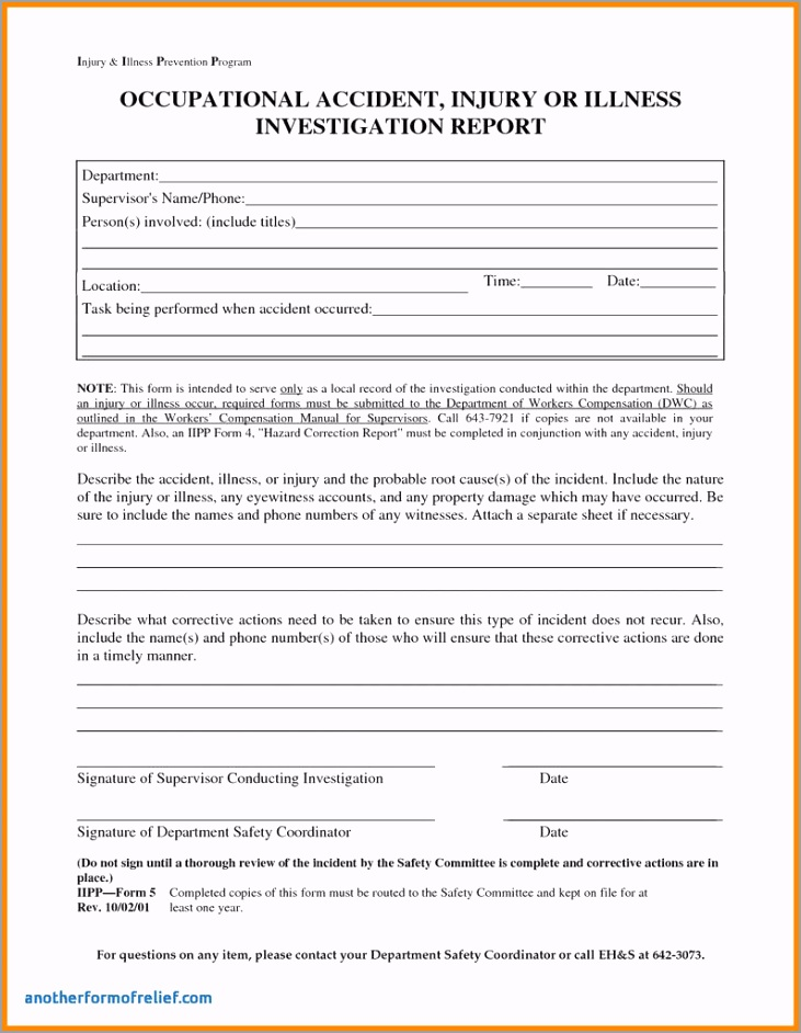 osha form 301 incident report lovely hr incident report form selo l ink of osha form 301 incident report awiri