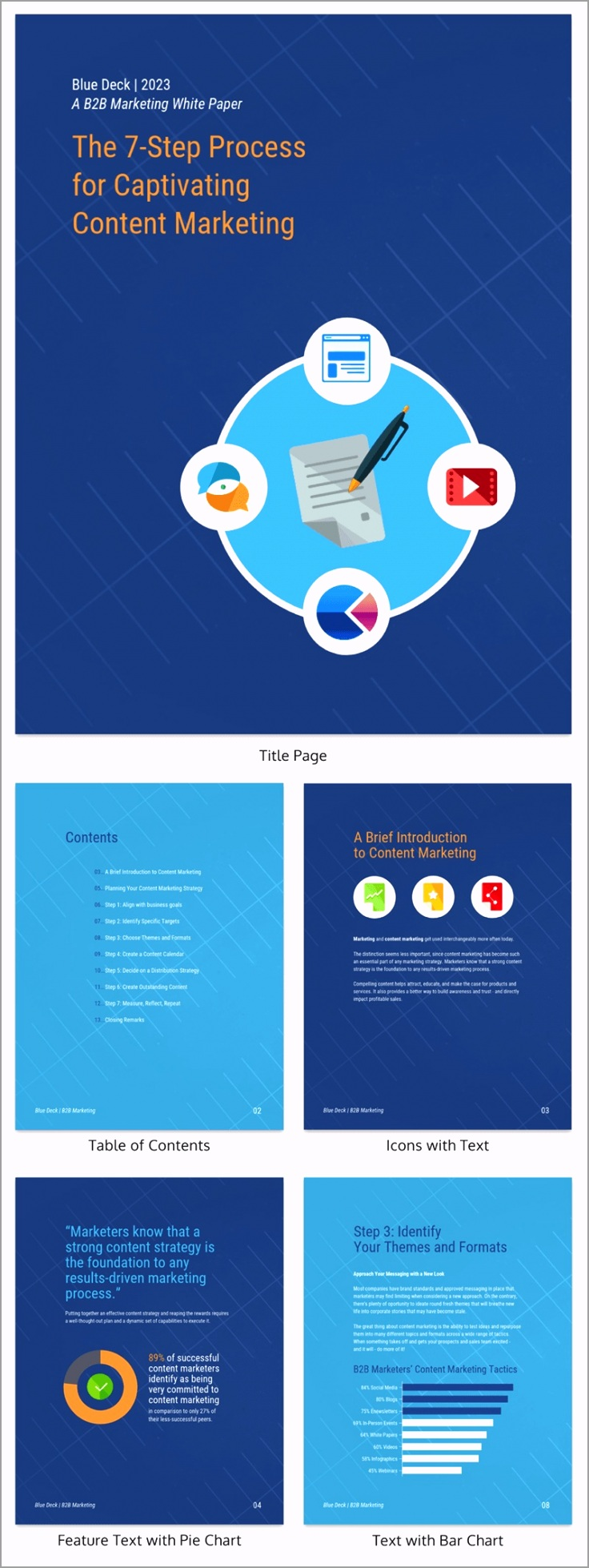 White Paper Business Report Template 2 irwce