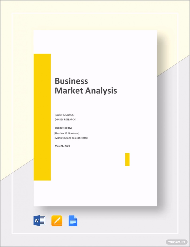 Business Market Analysis Template yuerw