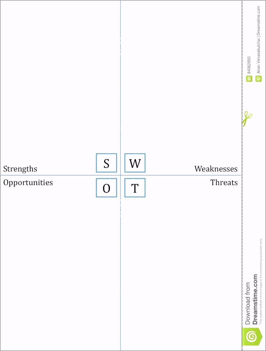 swot analysis template simplified portrait worksheet best training workshop sessions ttwia