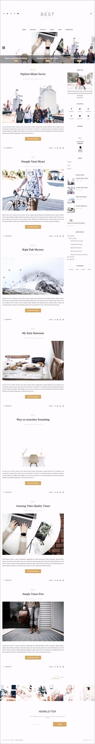 Best Blogger Template arwwi
