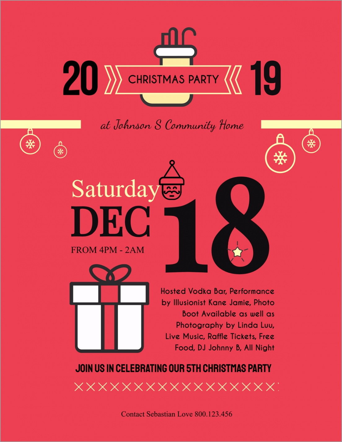 flyer templates christmas party event iuyzy