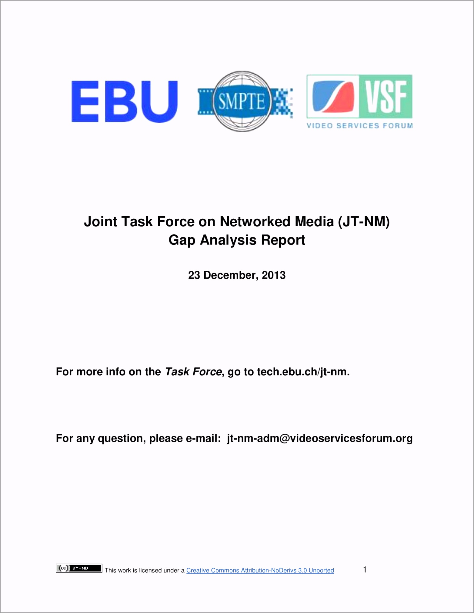 Joint Tasked Force and Network Media Gap Analysis Report Example 001 ueiwu