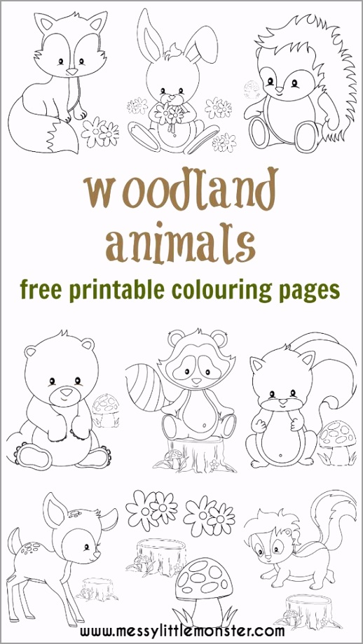 full woodland fox coloring pages woodland animal colouring pages coloring pages animal coloring eewpr
