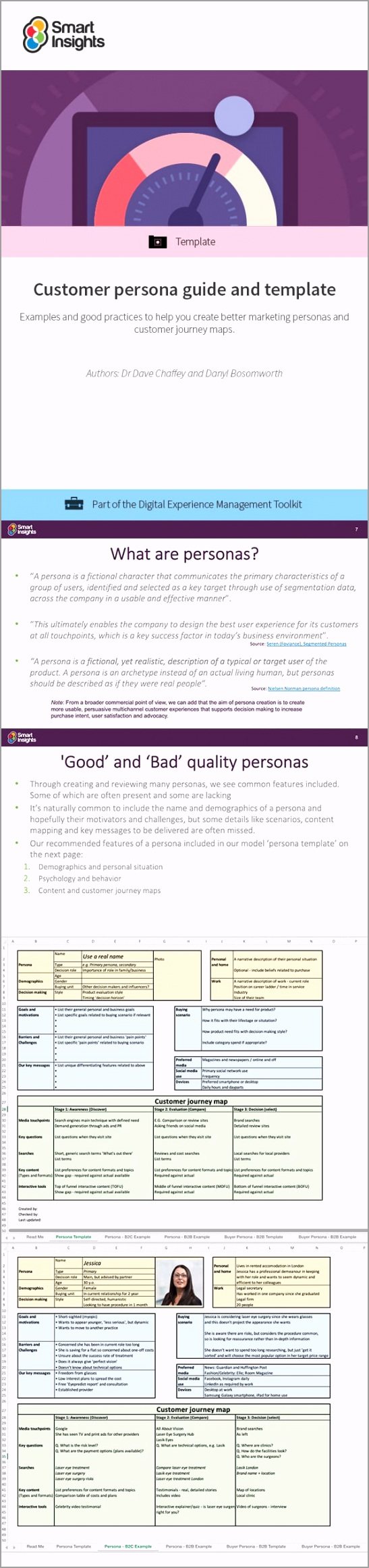 customer persona guide and template look inside aperr