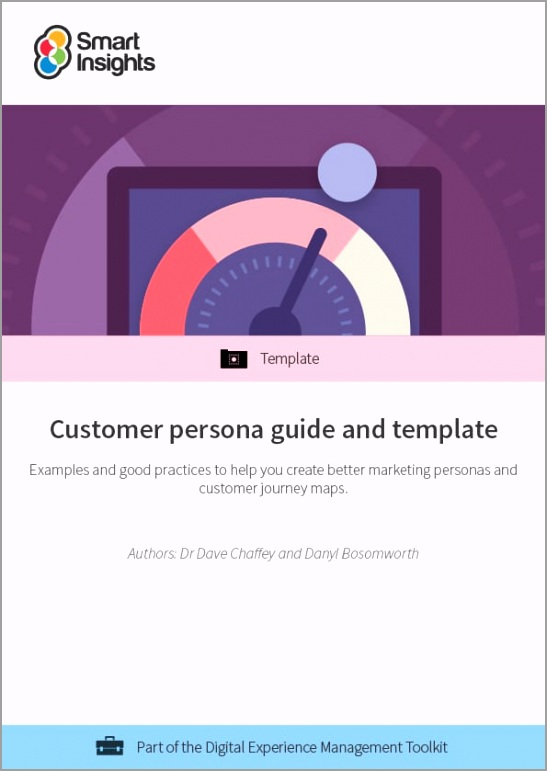 customer persona guide and template cover riueo