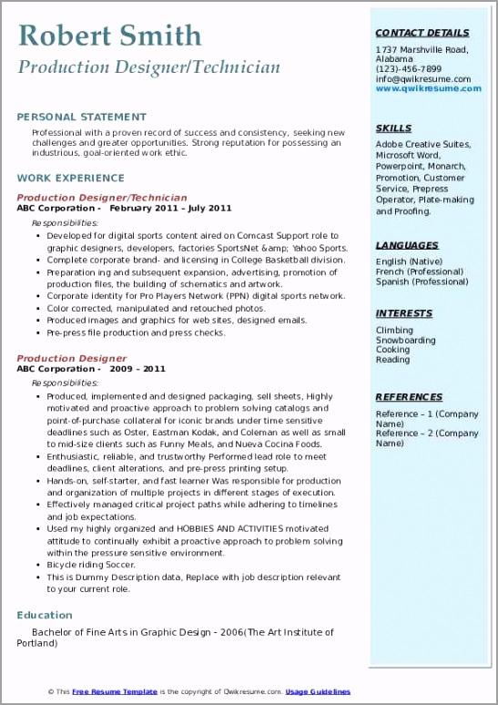 production designer pdf iwwit
