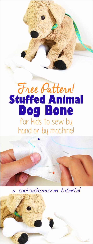 stuffed animal dog bone pinterest iuiee