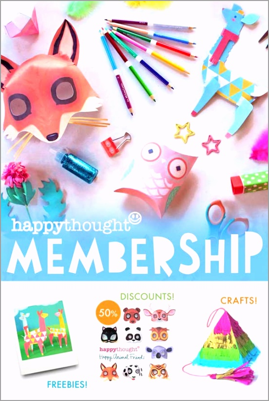 happythought craft club activities templates art projects rdiua