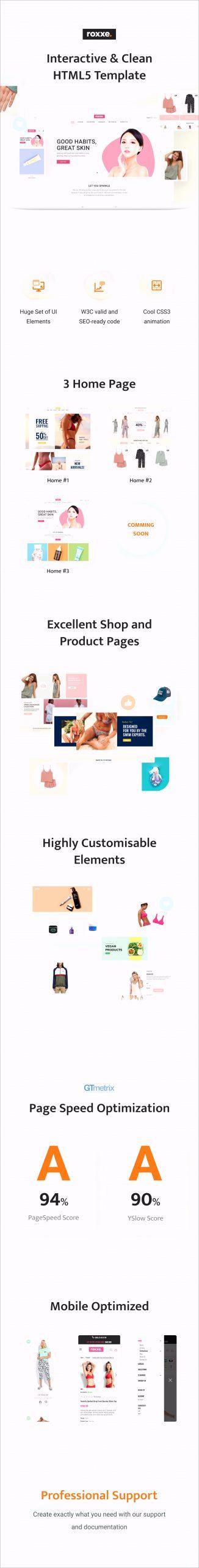 roxxe bootstrap 4 responsive multipurpose store template upicb