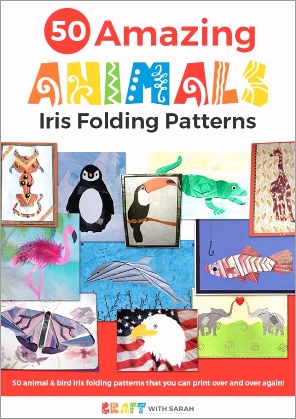 amazing animals iris folding patterns auyfd