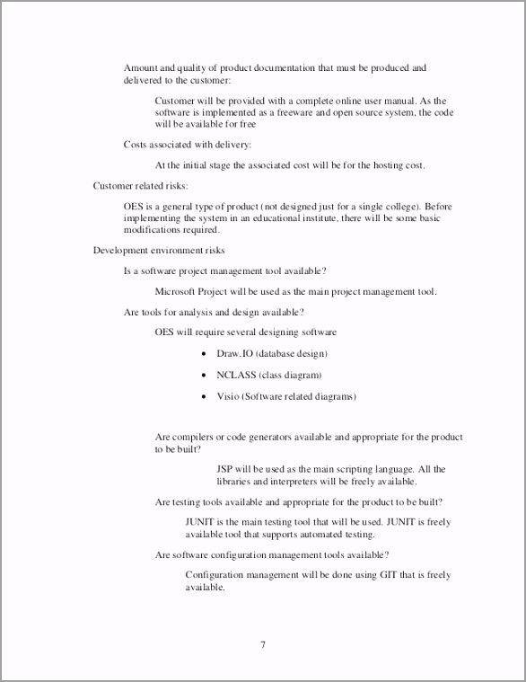 sample software engineering feasibility study report 7 638 powje