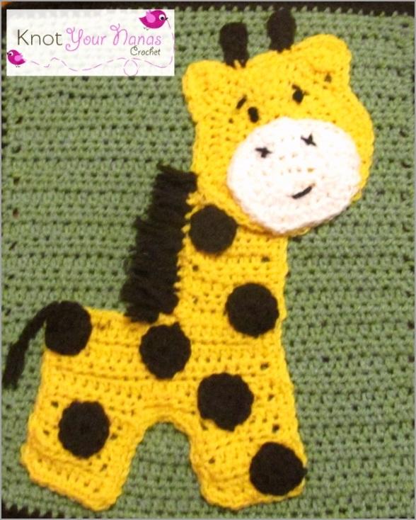 free crochet applique patterns knot your nanas crochet zoo blanket toorr