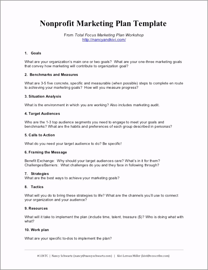 printable paper business plan pdf nonprofit marketing plan template summary 1 728 teokt