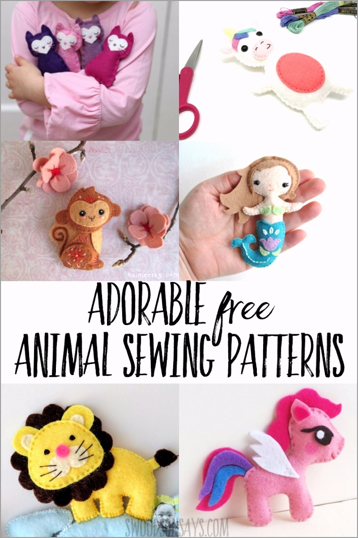 free animal sewing patterns rieor