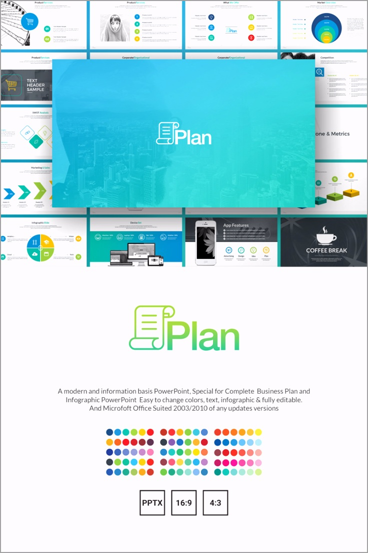 business lan owerpoint template free simple templates aeory
