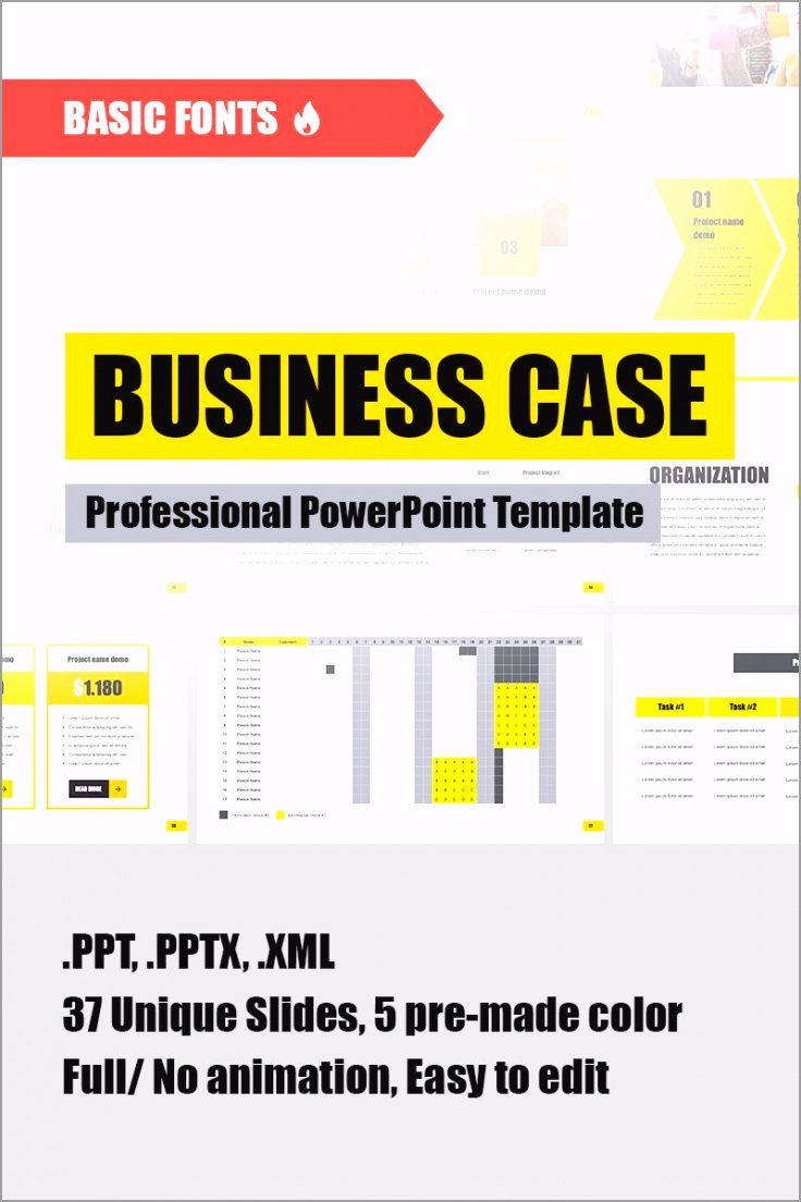 best business case vendors template sale iwtue