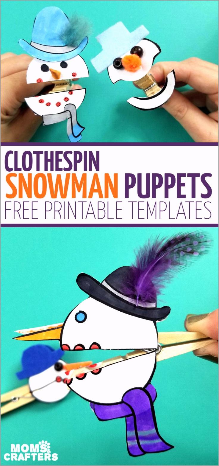 snowman puppets v2 etett