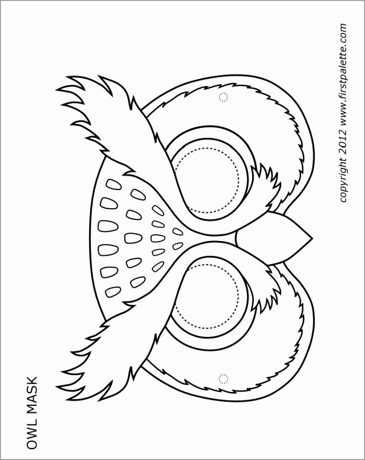 owl mask bw aoiia