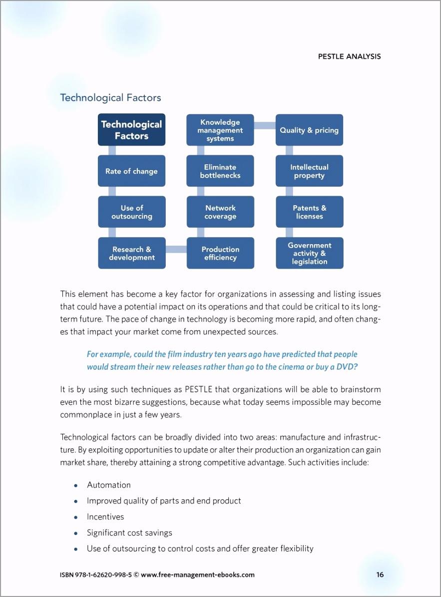 Pestle analysis strategy skills team fme free management ebooks isbn 978 1 998 5 itput