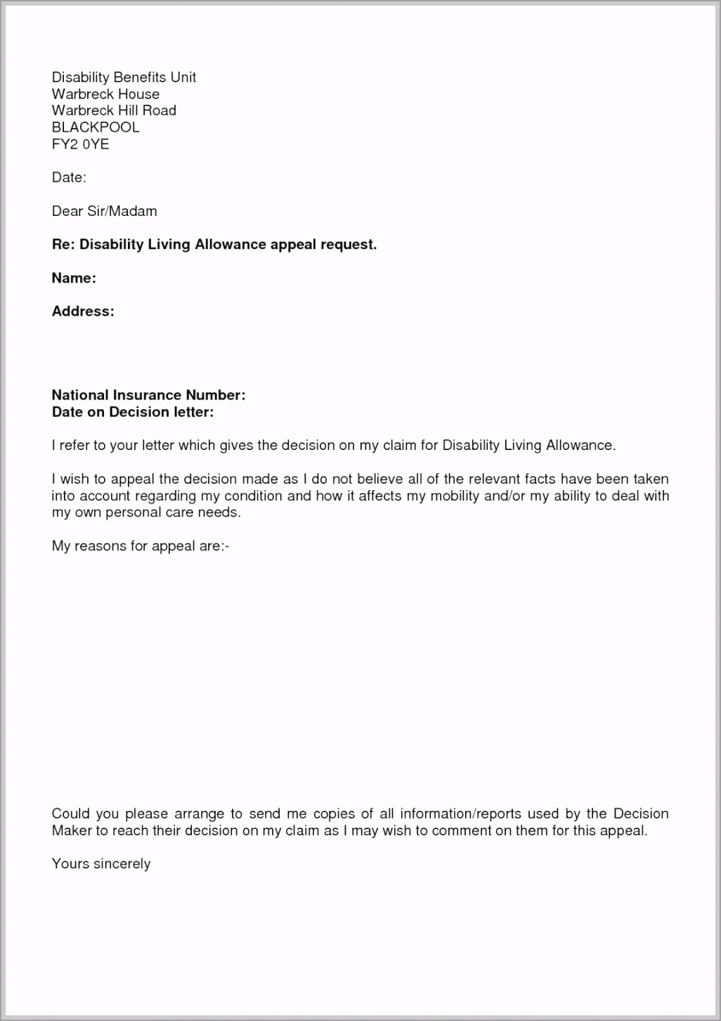 costume 10 appeal letter example lyceestlouis notice of appeal template example uzolw