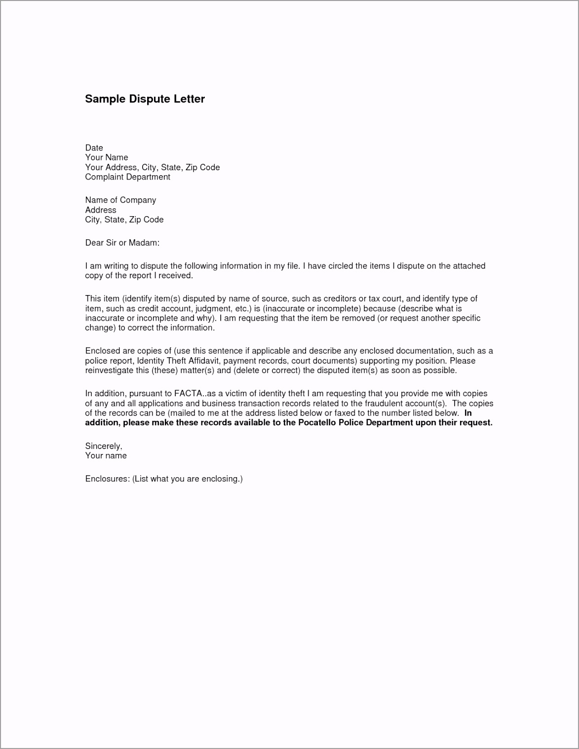 invoice dispute letter awesome how to write an excellent resume rfp of dispute letter template ptwet