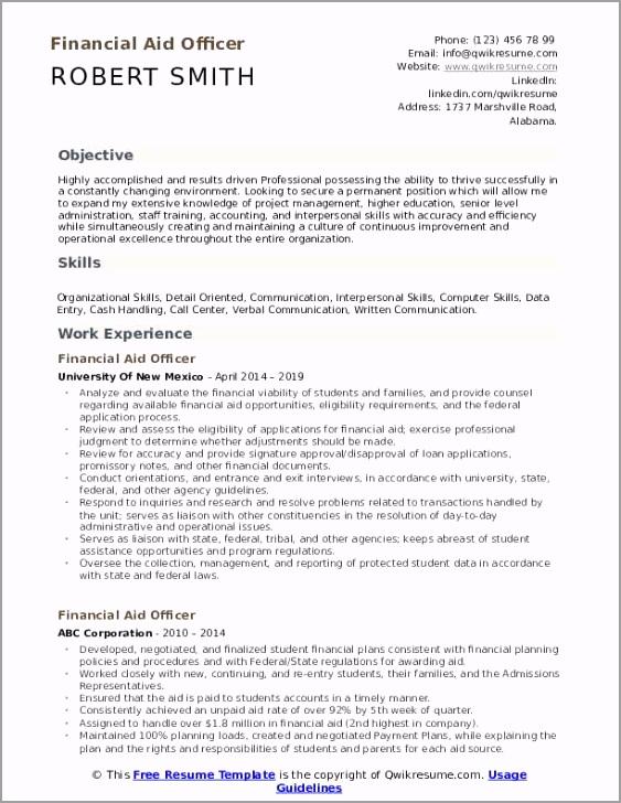 financial aid officer pdf eoipz
