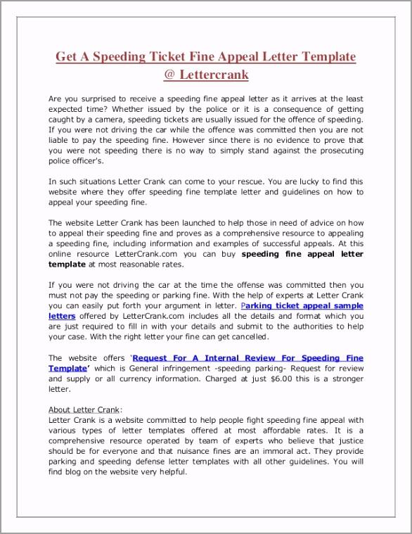 sample letter for speeding fine 1 638 aqtyo