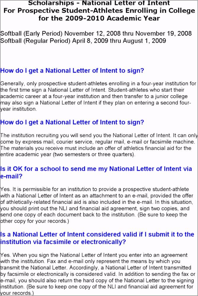 letter of intent scholarship itrwt