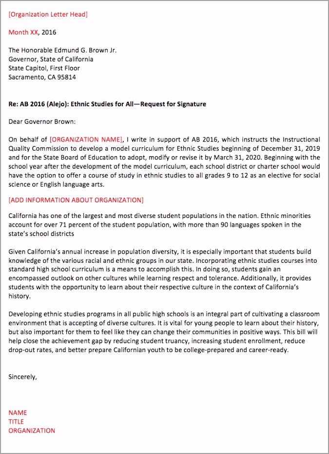 letter to the governor on ab 2016 iifar