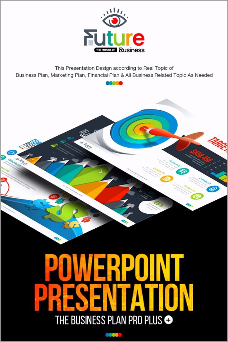 business plan ppt template presentation animated pptx infographic design powerpoint nulled robeo